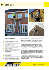 Easi-Dec Access Platform Brochure thumbnail