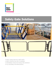 Kee Gate - Sales Brochure incl. Pallet Gates + Double Gates thumbnail